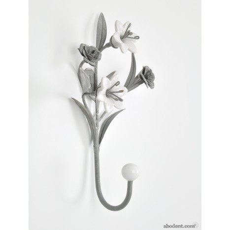 Flora Ceramics Coat Hook