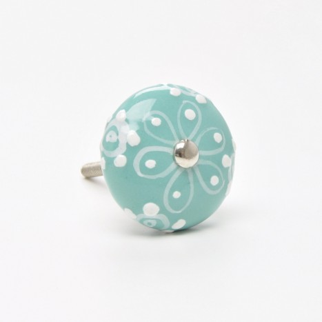 Painted Ceramic Knobs