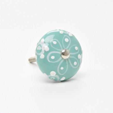 Painted Ceramic Knobs