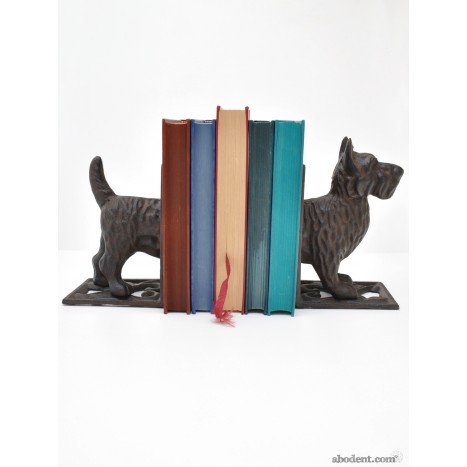 Rusty Scottie Bookends