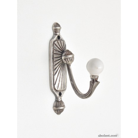 Silver Sconce Ceramic Wall Hook