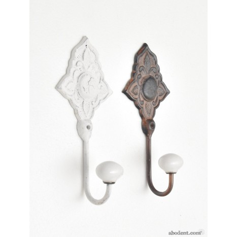 Decorative Metal Coat Hooks