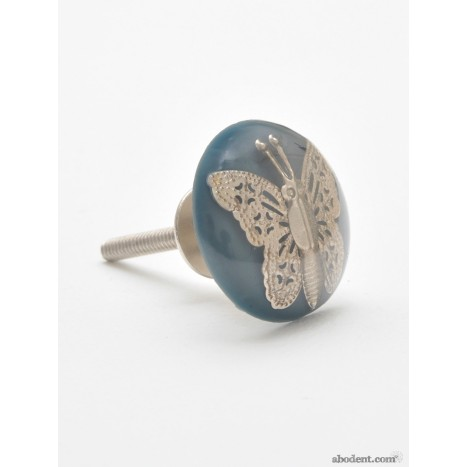 Glazed Entomology Butterfly Knobs (PES)
