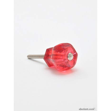Glacé Cherry Glass Pull