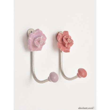 Minimalists Chintz Flower Hooks