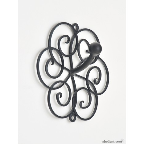 Cycloid Swirl Coat Hook