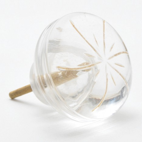 Large Clear Drawer Knob