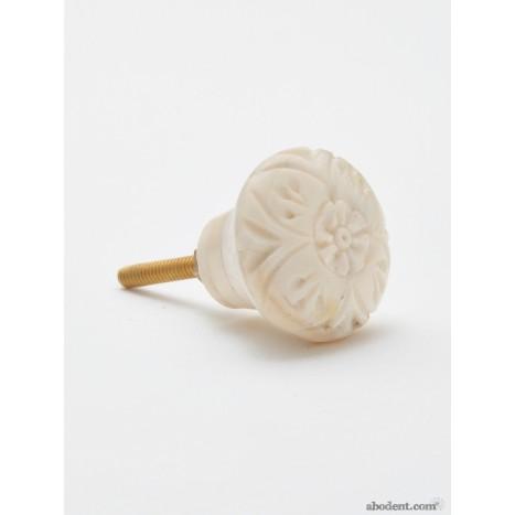 Whittling Work Flower Knob