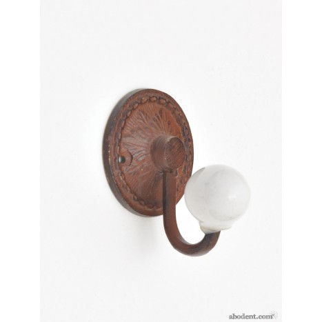 Small Round Metal Coat Hook