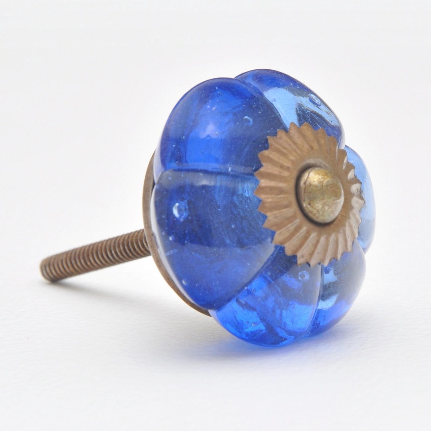 Colore Della Luce Di Colore Blu Pomello Minuteria Per Mobili