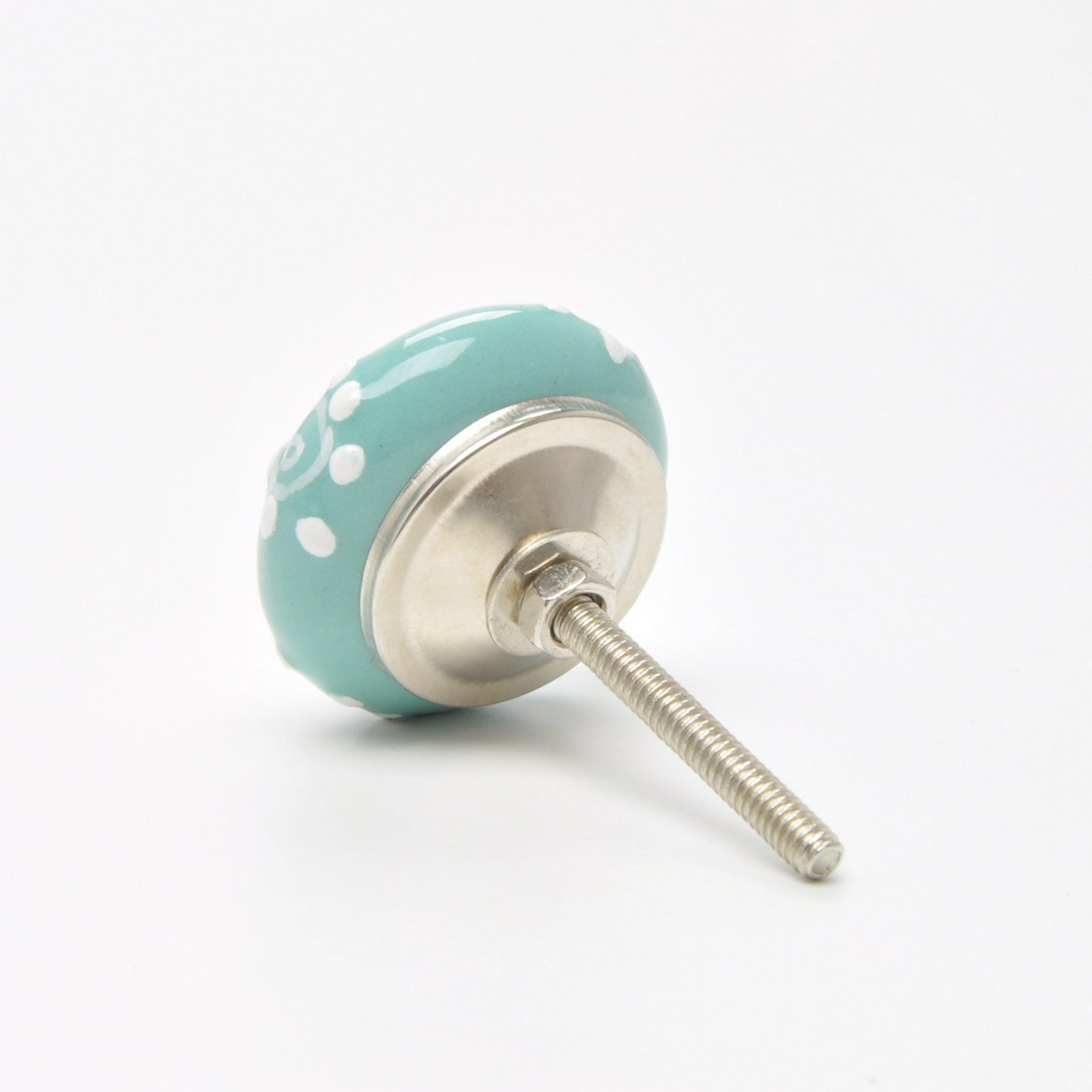 Green-Colour-Coloured-Knob-Pull-Handle-for-Cupboards-Doors-Cabinets-Drawer Indexbild 91